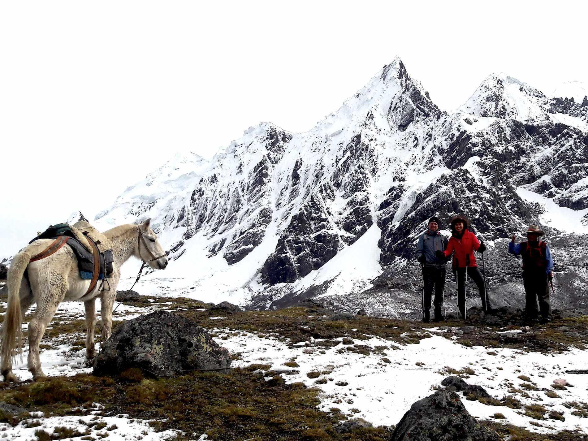 Ausangate trekking to Jhampa Pass