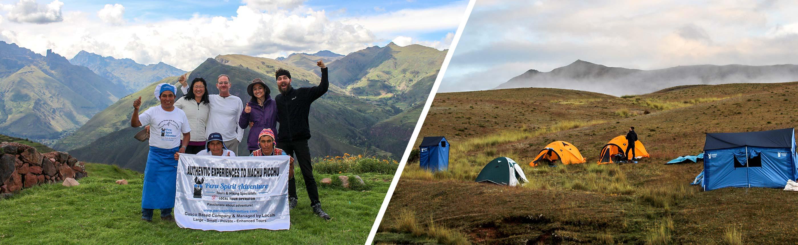 Huchuy Qosqo Trek to Machu Picchu with Camping