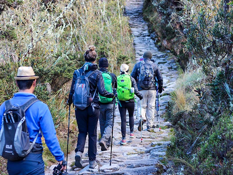 Inca trail trek 4 days
