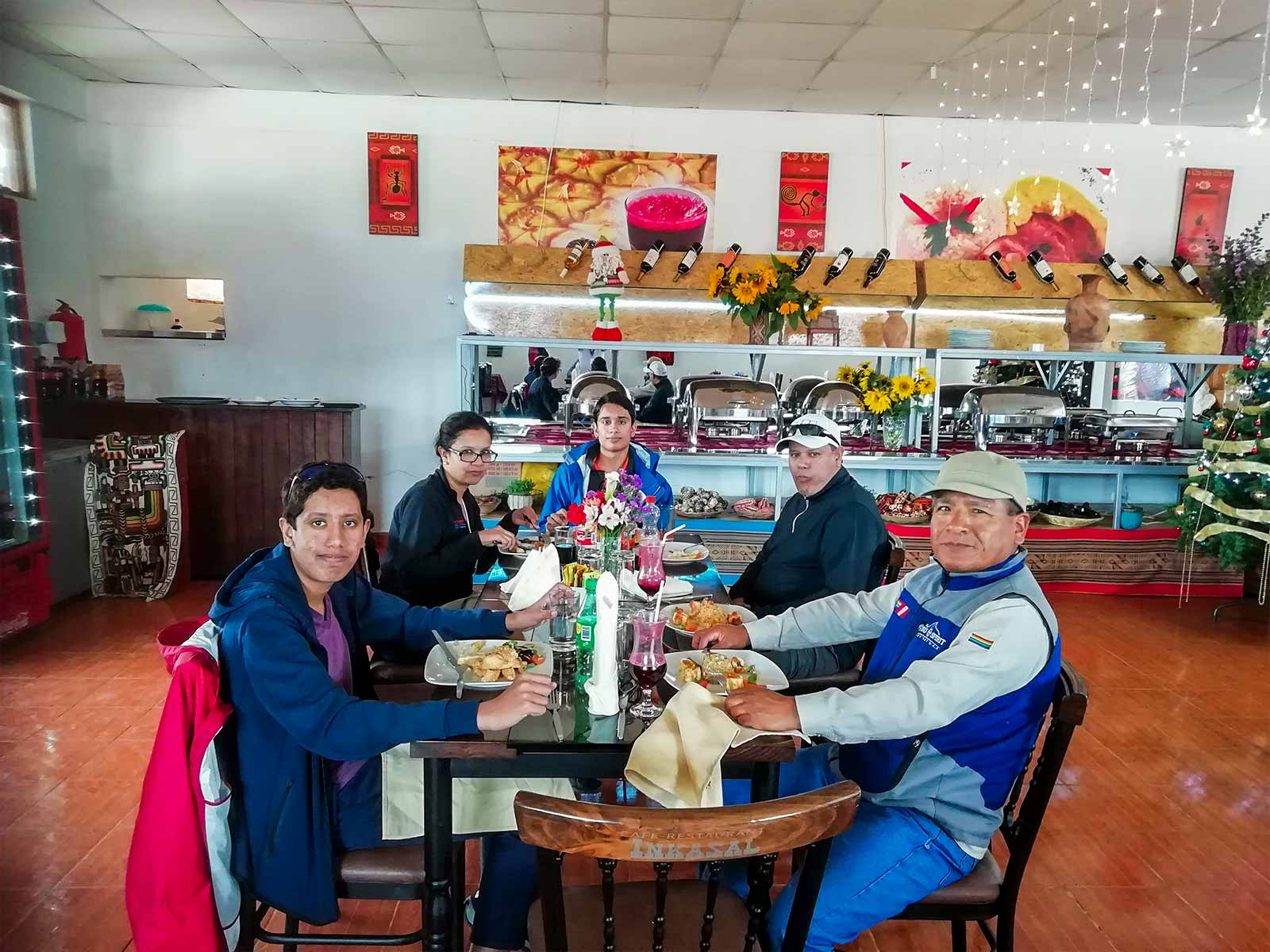 Lunch on the Sacred Valley