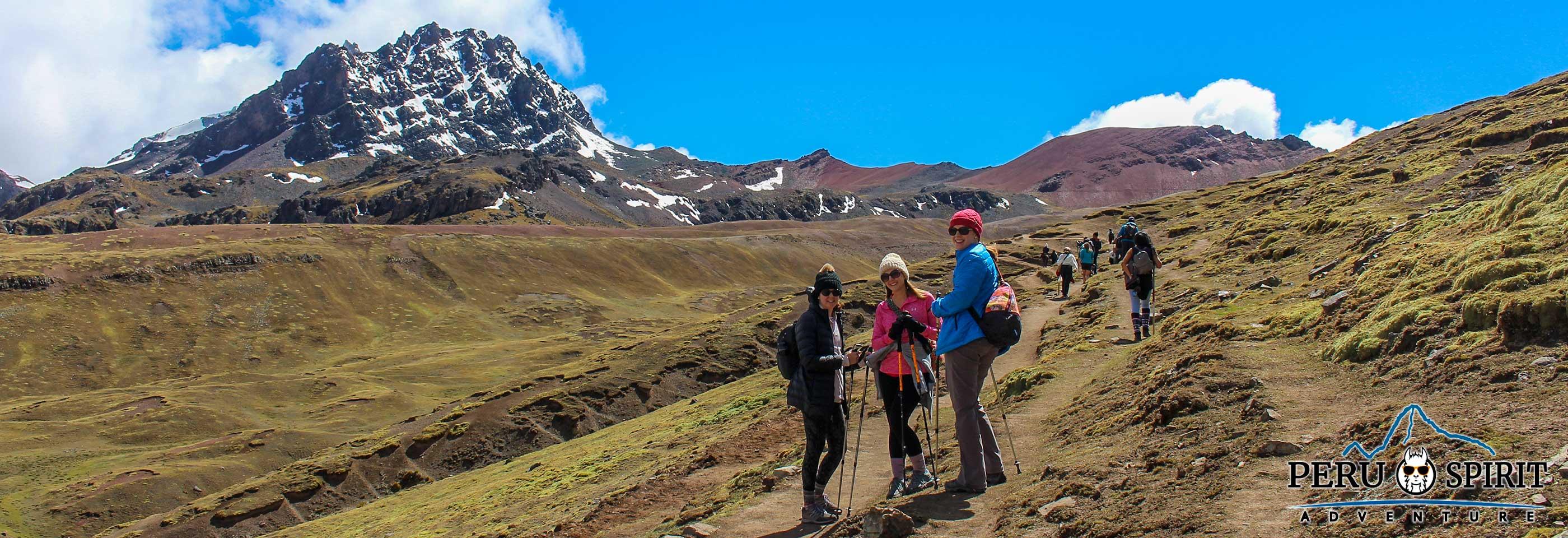 Rainbow Mountain Trek via Ausangate trail