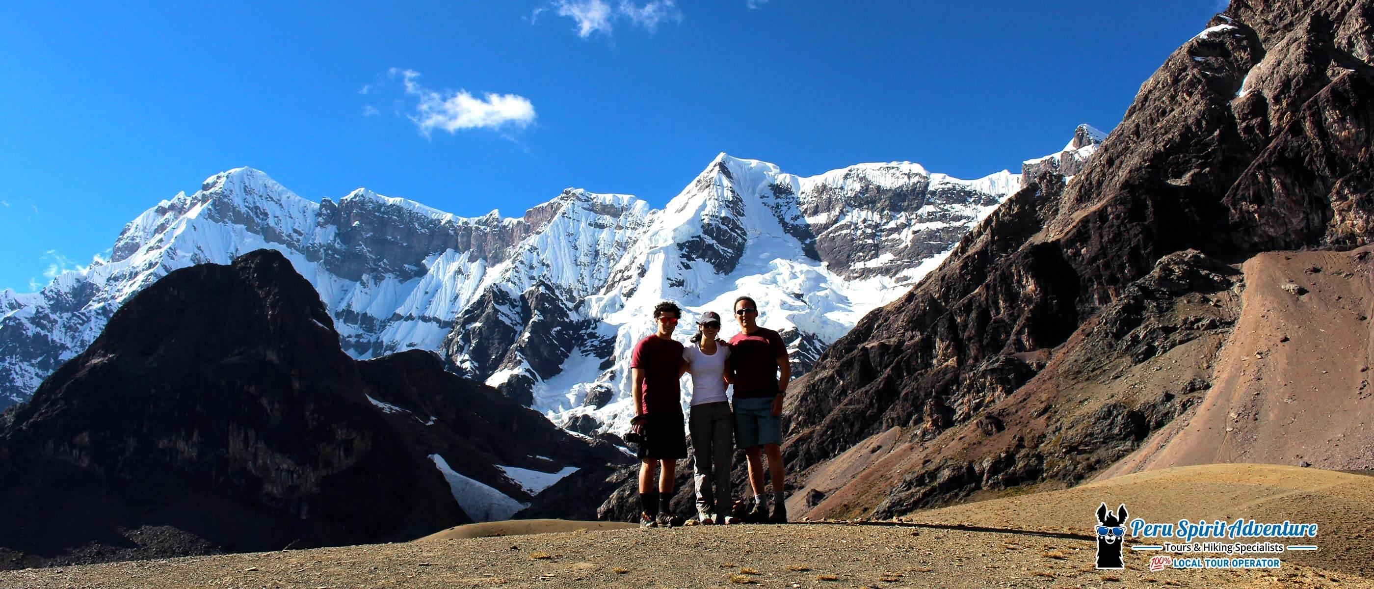 Rainbow Mountain trek 3 days via Ausangate Trail