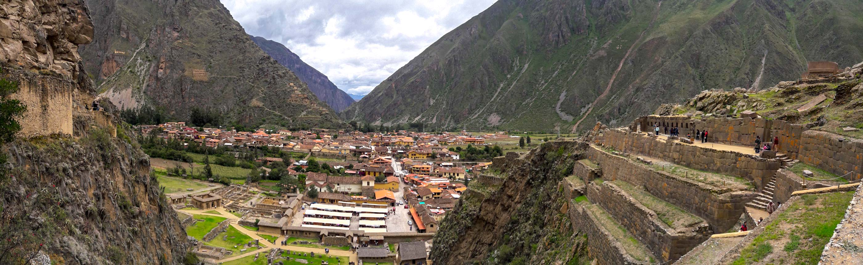 Ollantaytambo (Inca ruins) tour — With its ancient roots and sweeping views of the Andes peaks