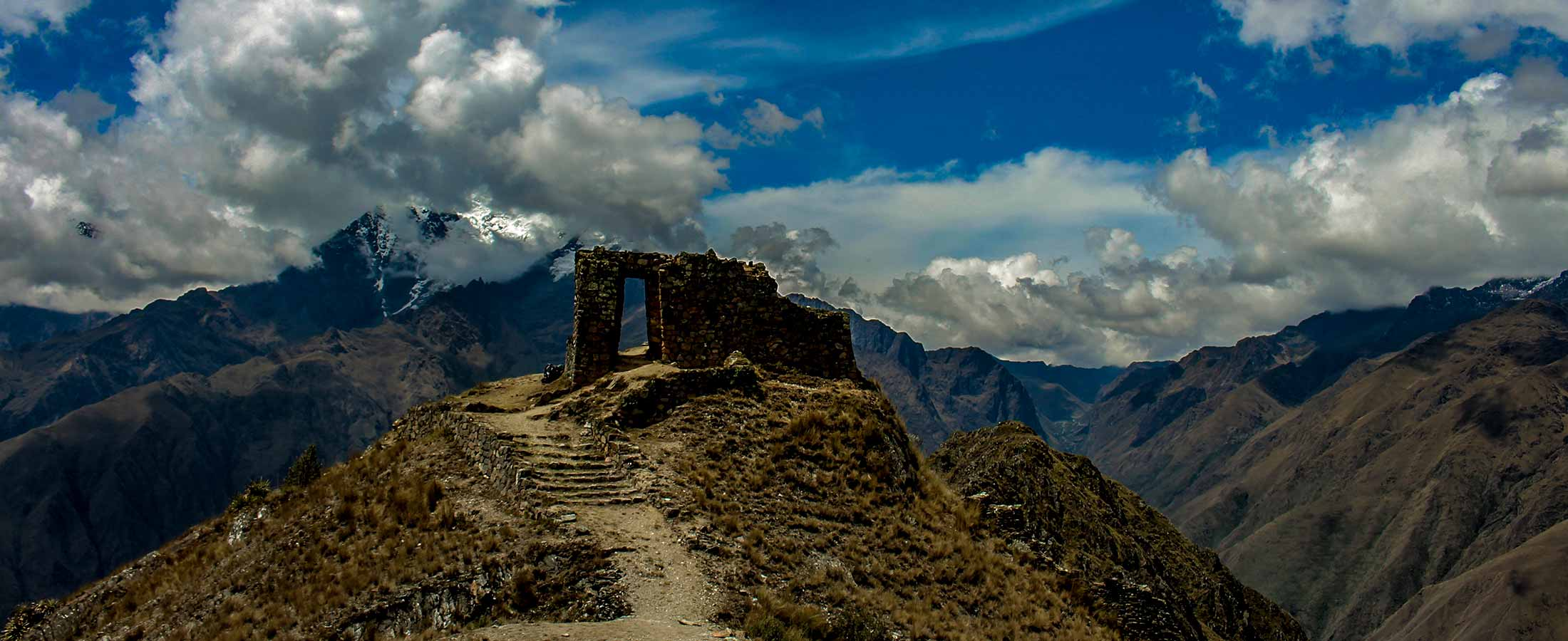 The Gate of the Sun on the Inca Quarry Trail Hike