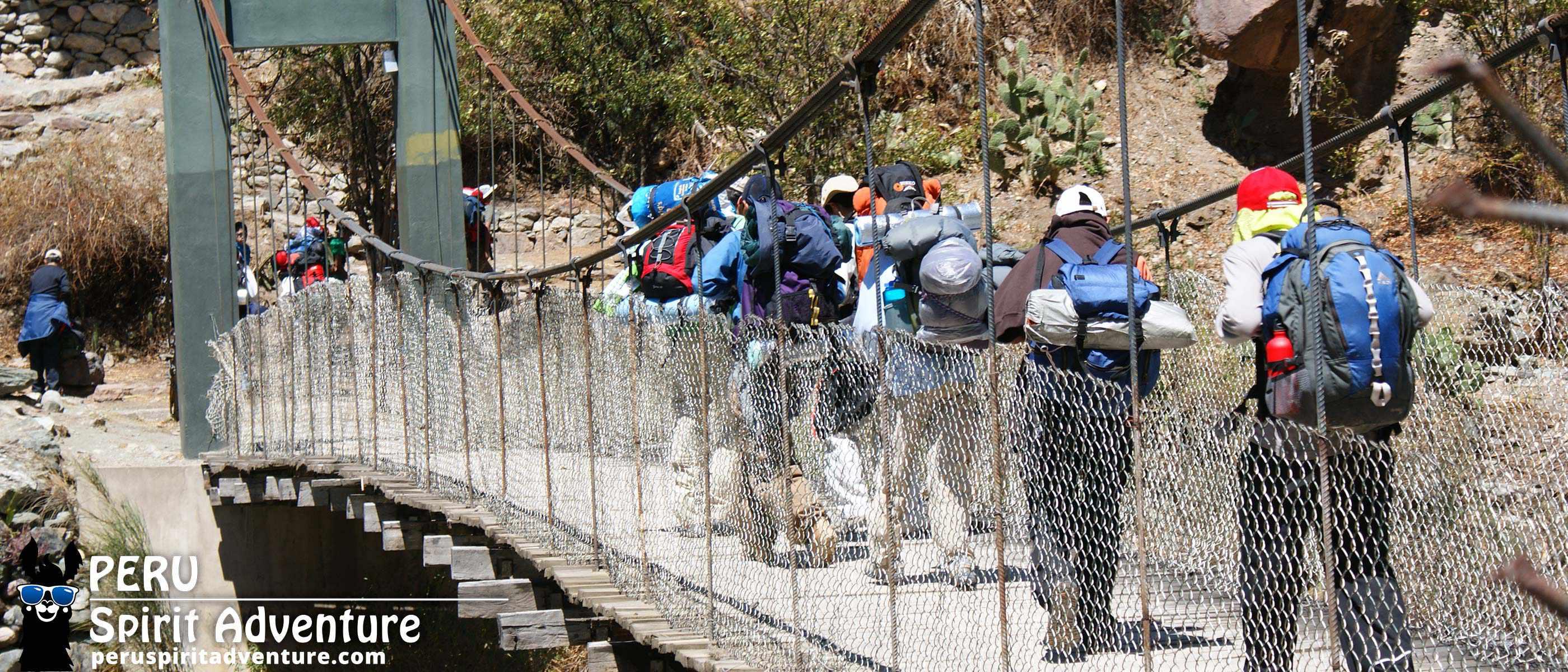INCA TRAIL 5 DAYS - DAY 1