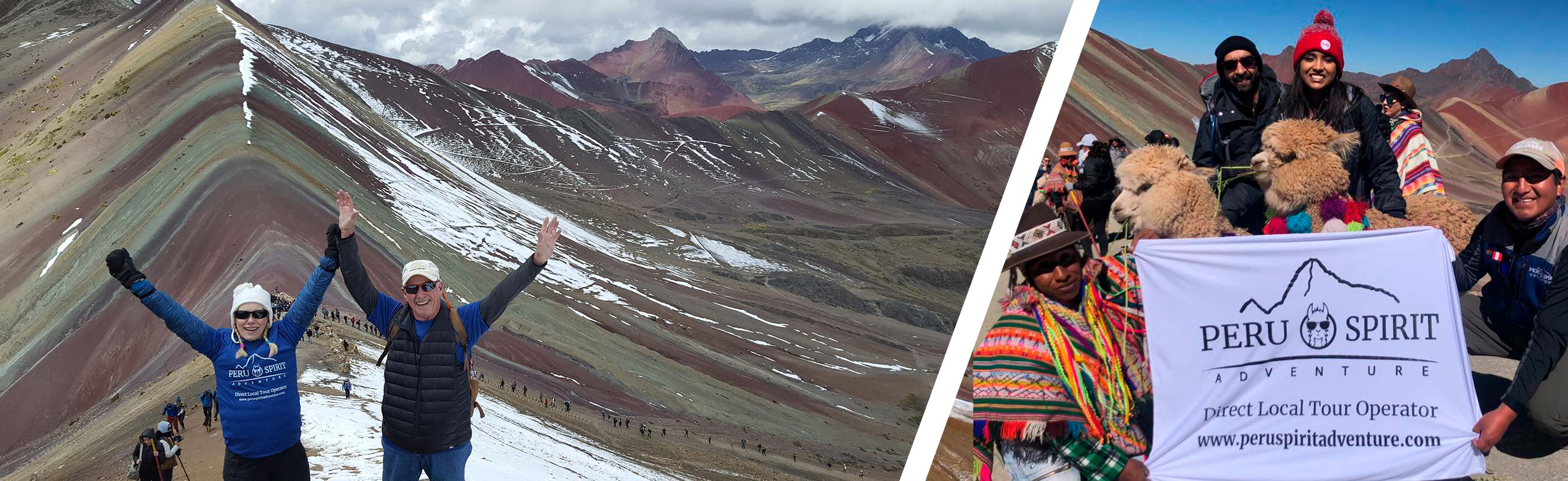 See the amazing VINICUNCA RAINBOW MOUNTAIN in a one day hike!