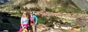 Ollantaytambo site on Sacred Valley and Machu Picchu 2 Days Tour