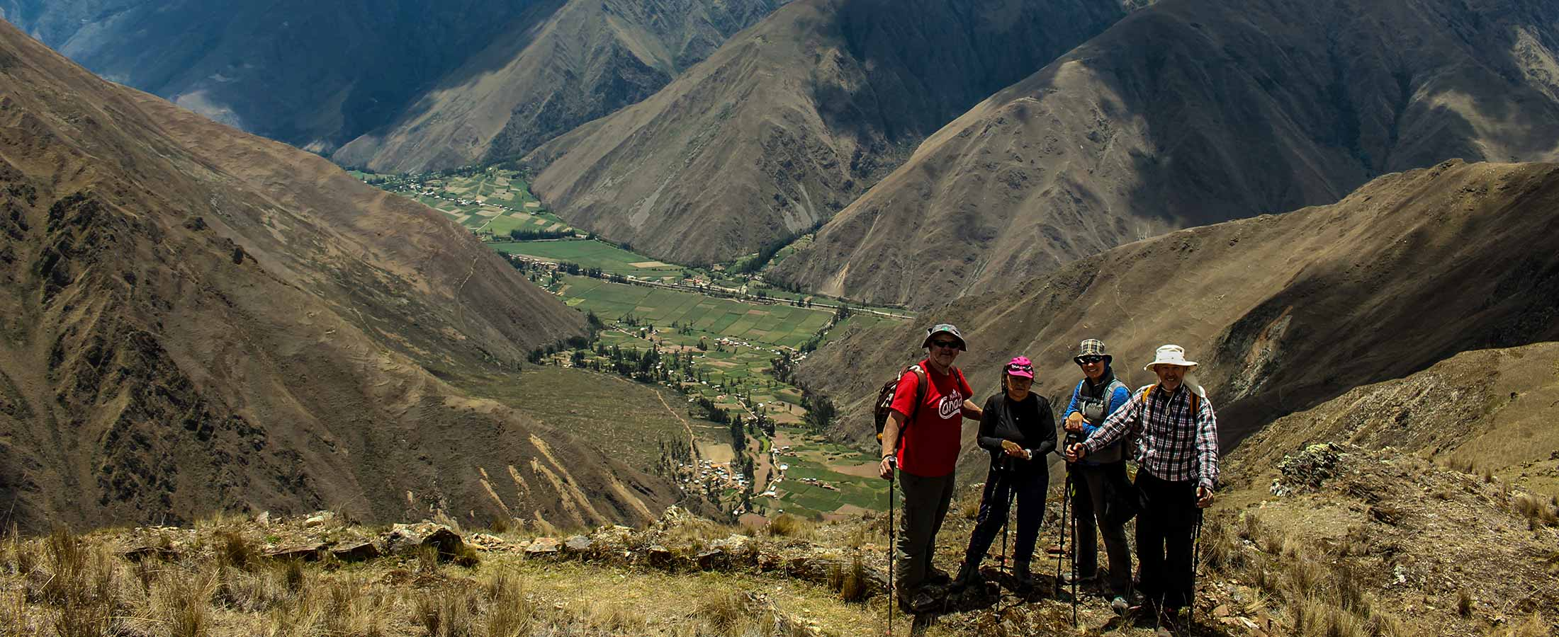 trek to cachicata Inca quarry trail in 1 day